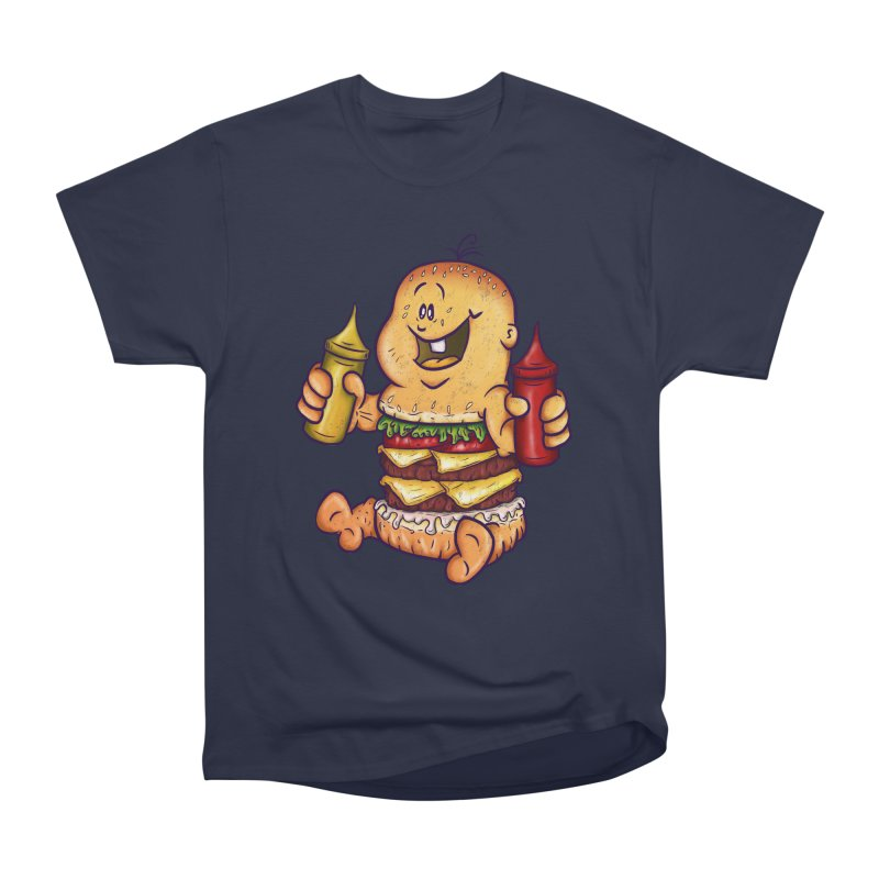 Baby Burger Men's Classic T-Shirt by The Last Tsunami's Artist Shop