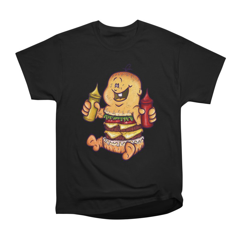 Baby Burger Men's Heavyweight T-Shirt by The Last Tsunami's Artist Shop