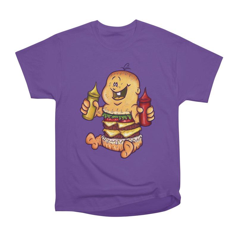 Baby Burger Men's Classic T-Shirt by The Last Tsunami's Artist Shop