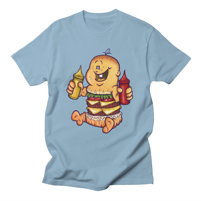 Baby Burger Men's T-Shirt by The Last Tsunami's Artist Shop