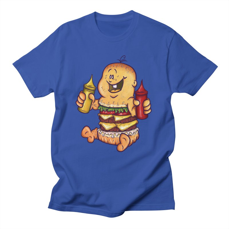 Baby Burger Women's Unisex T-Shirt by The Last Tsunami's Artist Shop
