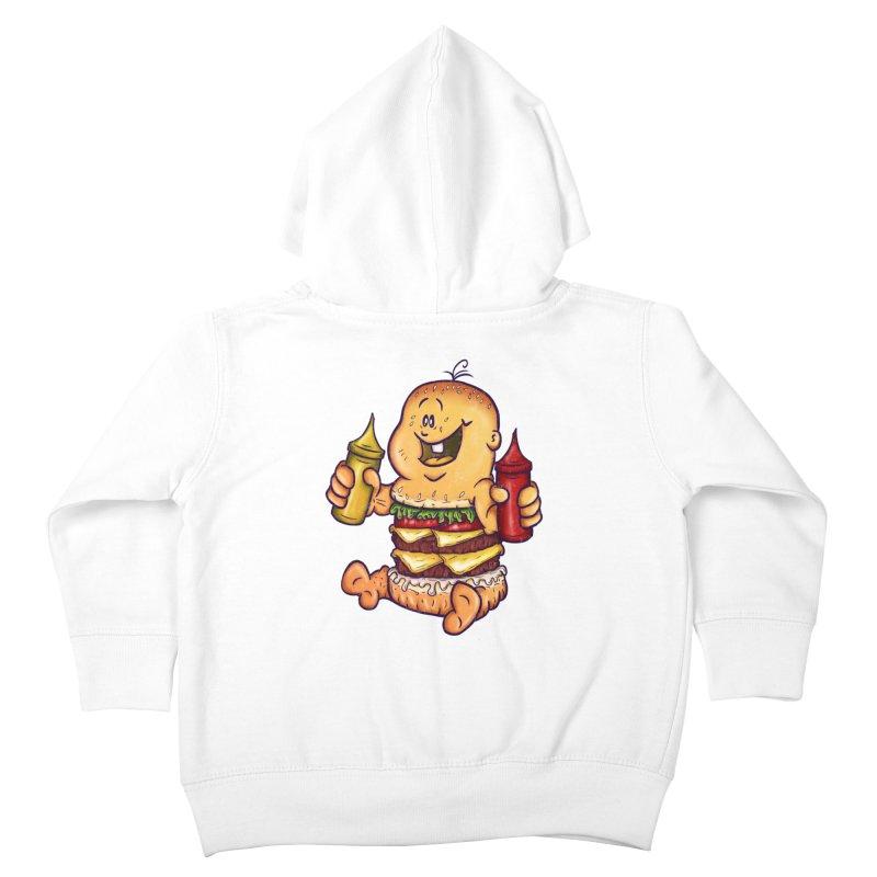 Baby Burger Kids Toddler Zip-Up Hoody by The Last Tsunami's Artist Shop
