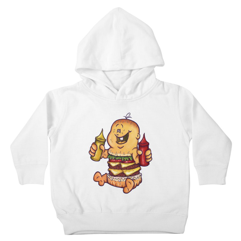 Baby Burger Kids Toddler Pullover Hoody by The Last Tsunami's Artist Shop