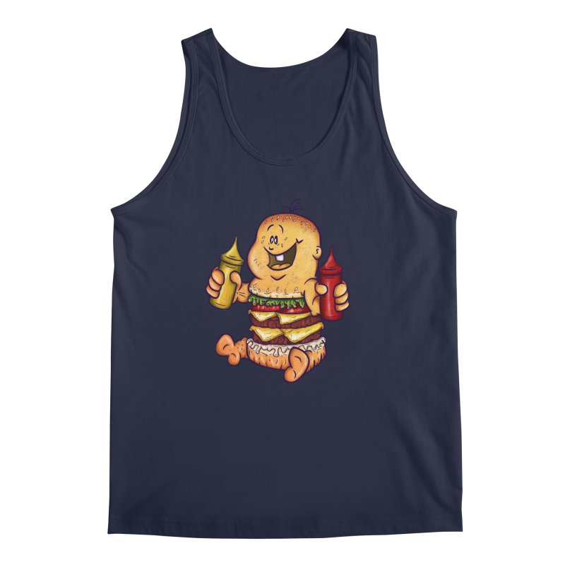 Baby Burger Men's Tank by The Last Tsunami's Artist Shop