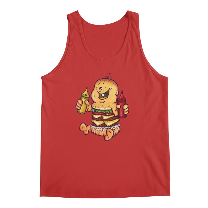 Baby Burger Men's Tank by The Last Tsunami's Artist Shop