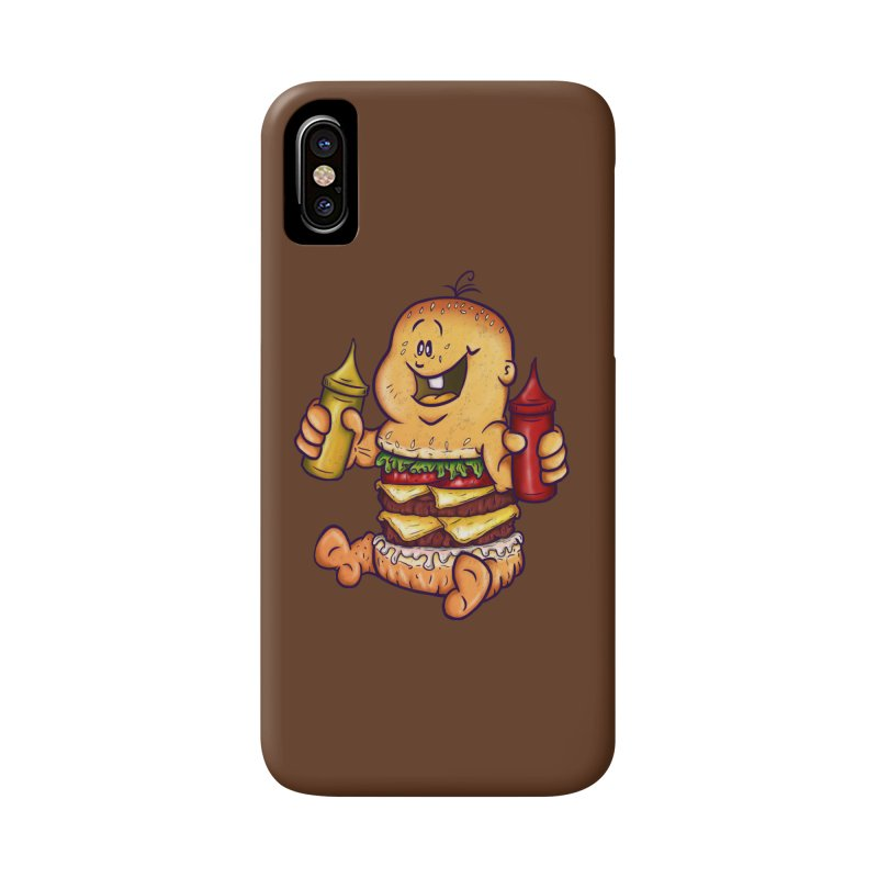 Baby Burger Accessories Phone Case by The Last Tsunami's Artist Shop