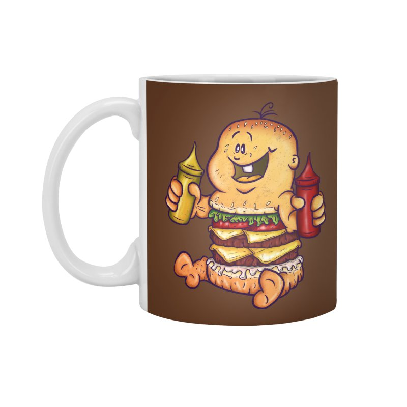 Baby Burger Accessories Mug by The Last Tsunami's Artist Shop