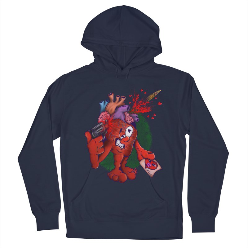 Got you on my mind Men's French Terry Pullover Hoody by The Last Tsunami's Artist Shop