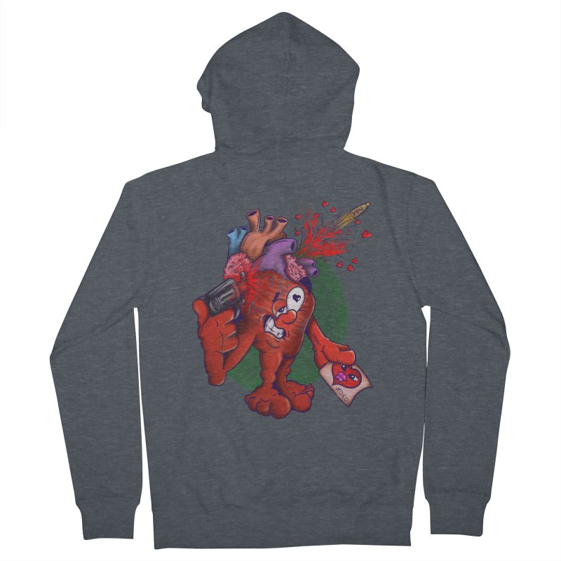 Got you on my mind Women's French Terry Zip-Up Hoody by The Last Tsunami's Artist Shop