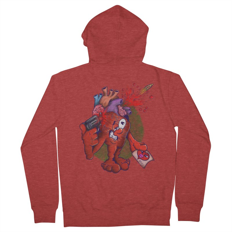 Got you on my mind Women's Zip-Up Hoody by The Last Tsunami's Artist Shop