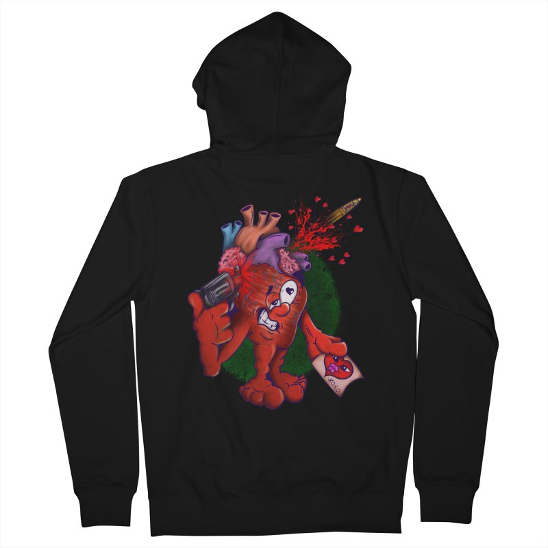 Got you on my mind Men's Zip-Up Hoody by The Last Tsunami's Artist Shop