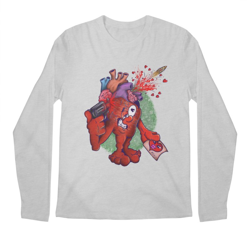 Got you on my mind Men's Regular Longsleeve T-Shirt by The Last Tsunami's Artist Shop