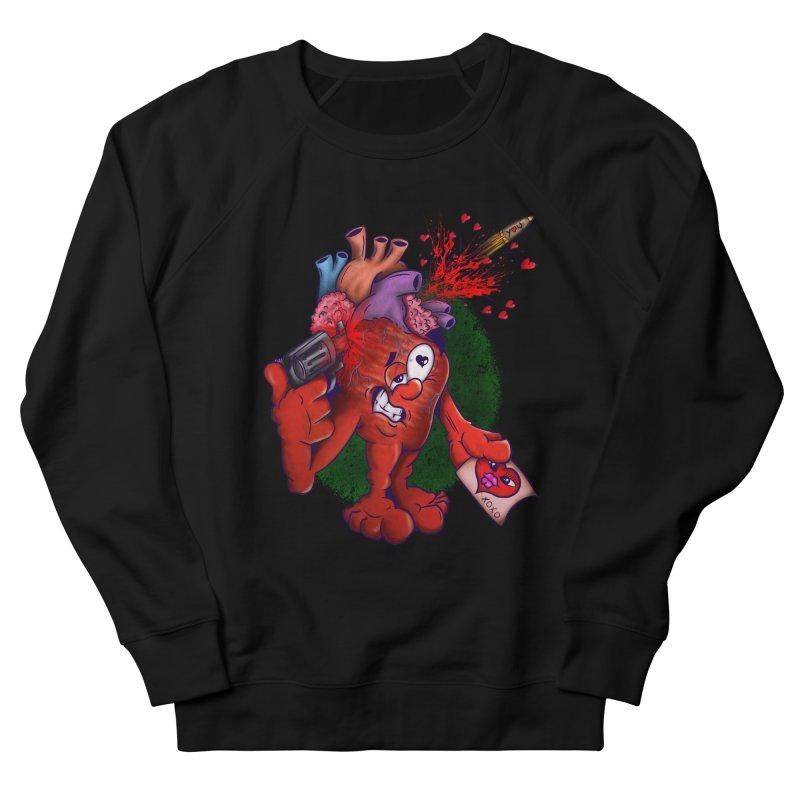 Got you on my mind Men's French Terry Sweatshirt by The Last Tsunami's Artist Shop
