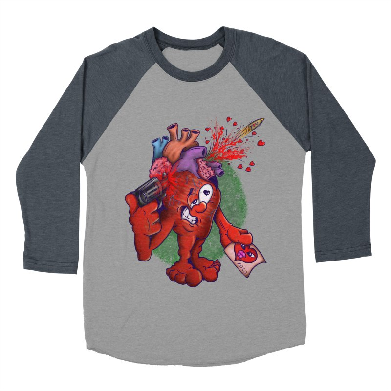 Got you on my mind Women's Baseball Triblend Longsleeve T-Shirt by The Last Tsunami's Artist Shop