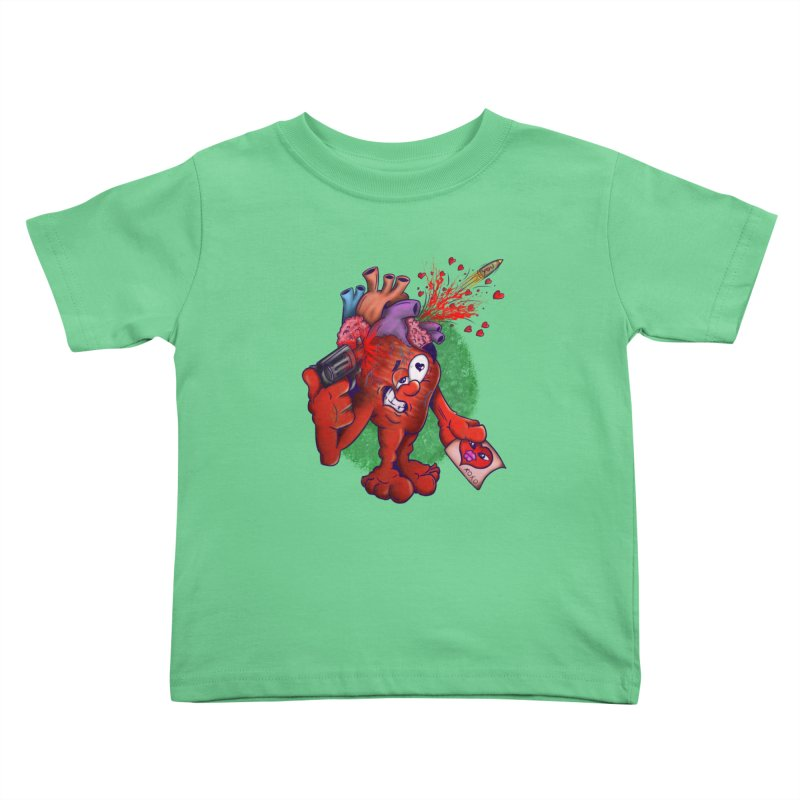 Got you on my mind Kids Toddler T-Shirt by The Last Tsunami's Artist Shop