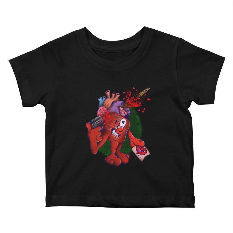 Got you on my mind Kids Baby T-Shirt by The Last Tsunami's Artist Shop