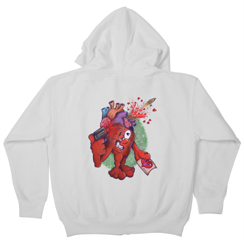 Got you on my mind Kids Zip-Up Hoody by The Last Tsunami's Artist Shop