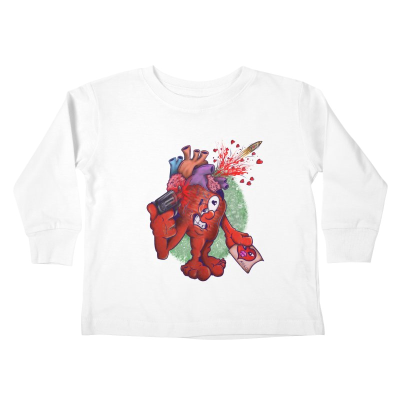 Got you on my mind Kids Toddler Longsleeve T-Shirt by The Last Tsunami's Artist Shop