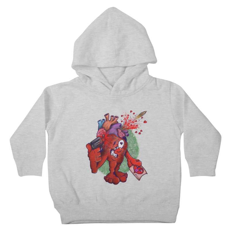 Got you on my mind Kids Toddler Pullover Hoody by The Last Tsunami's Artist Shop