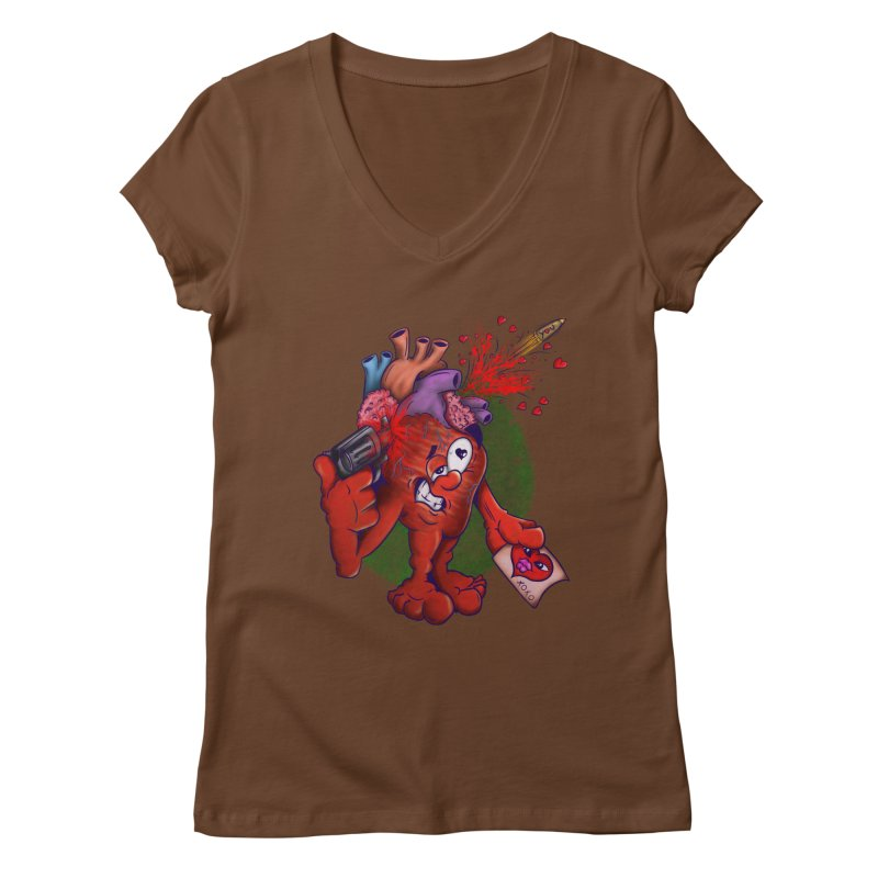 Got you on my mind Women's V-Neck by The Last Tsunami's Artist Shop