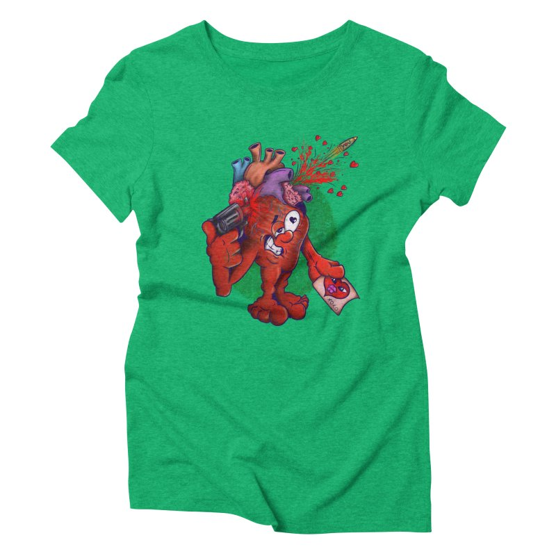 Got you on my mind Women's Triblend T-shirt by The Last Tsunami's Artist Shop