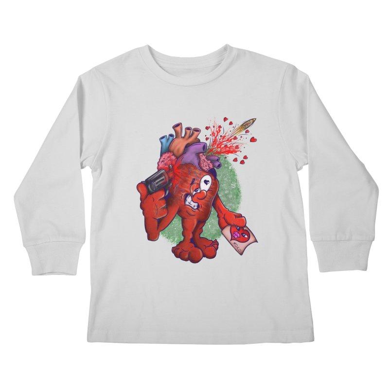 Got you on my mind Kids Longsleeve T-Shirt by The Last Tsunami's Artist Shop