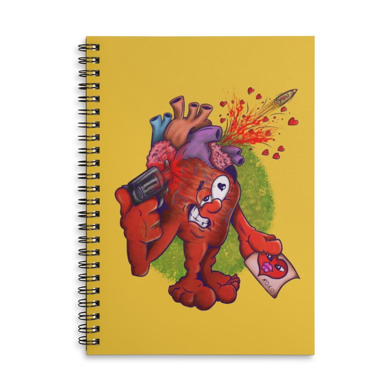 Got you on my mind Accessories Lined Spiral Notebook by The Last Tsunami's Artist Shop