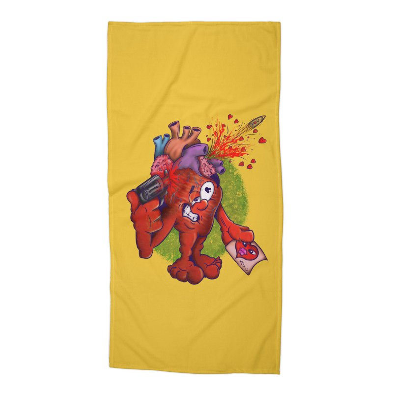 Got you on my mind Accessories Beach Towel by The Last Tsunami's Artist Shop