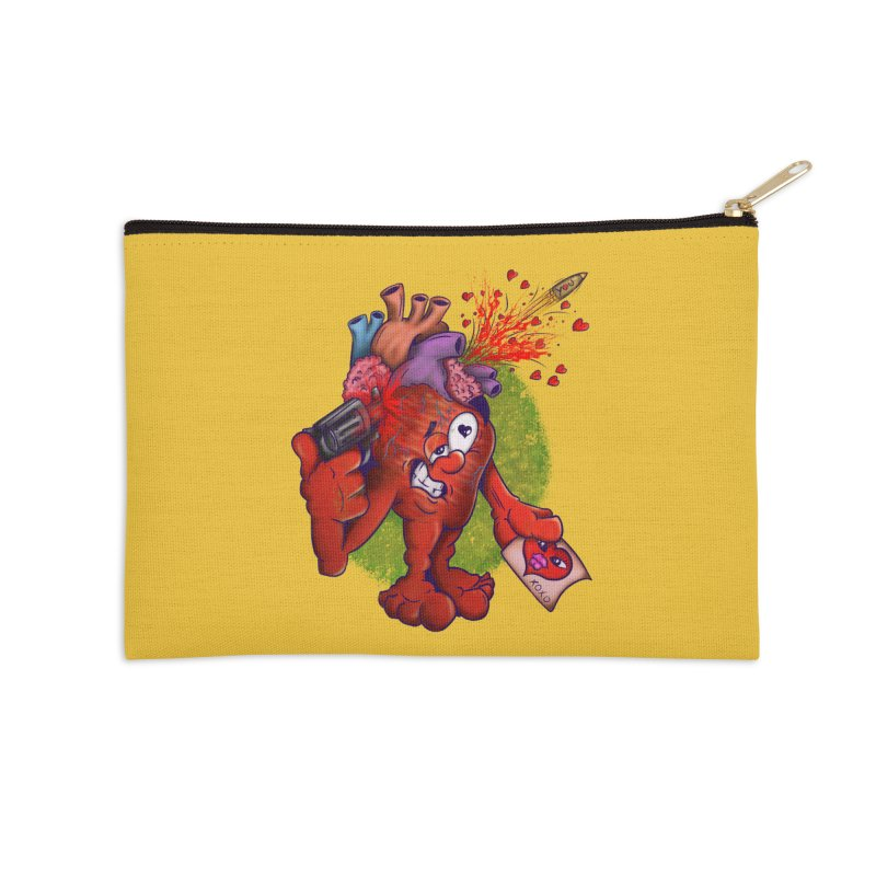 Got you on my mind Accessories Zip Pouch by The Last Tsunami's Artist Shop