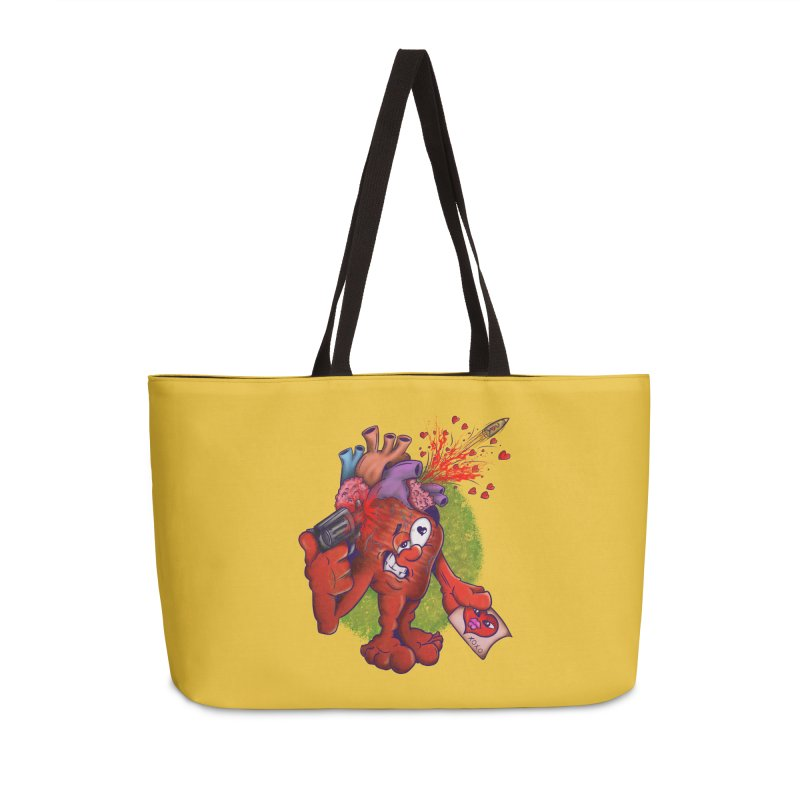 Got you on my mind Accessories Weekender Bag Bag by The Last Tsunami's Artist Shop