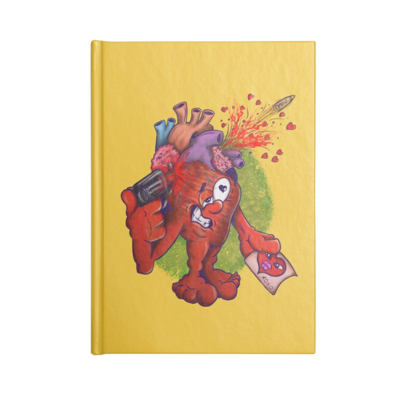 Got you on my mind Accessories Lined Journal Notebook by The Last Tsunami's Artist Shop