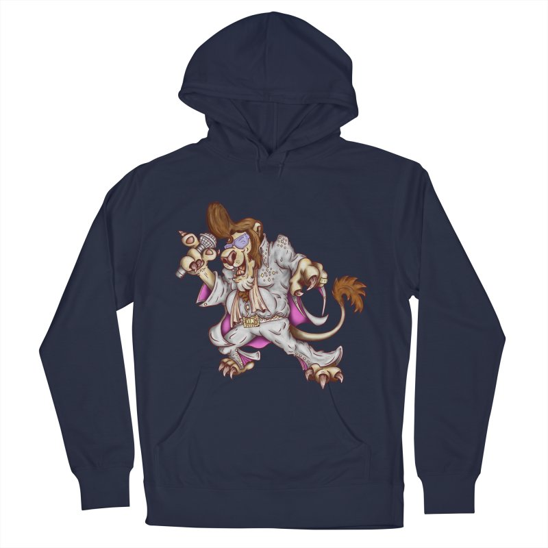 The King Men's French Terry Pullover Hoody by The Last Tsunami's Artist Shop