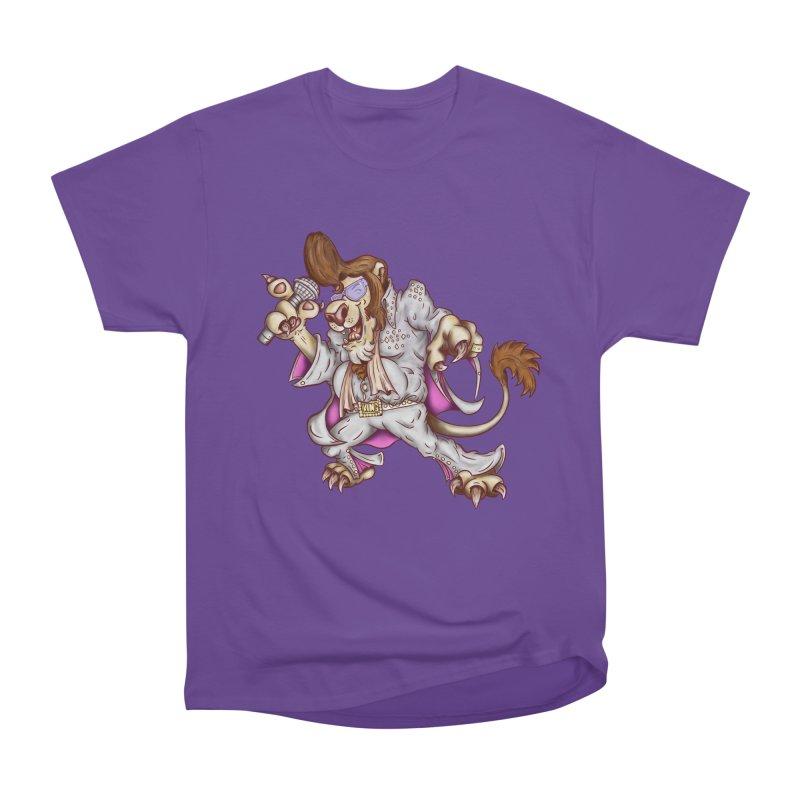 The King Men's Heavyweight T-Shirt by The Last Tsunami's Artist Shop