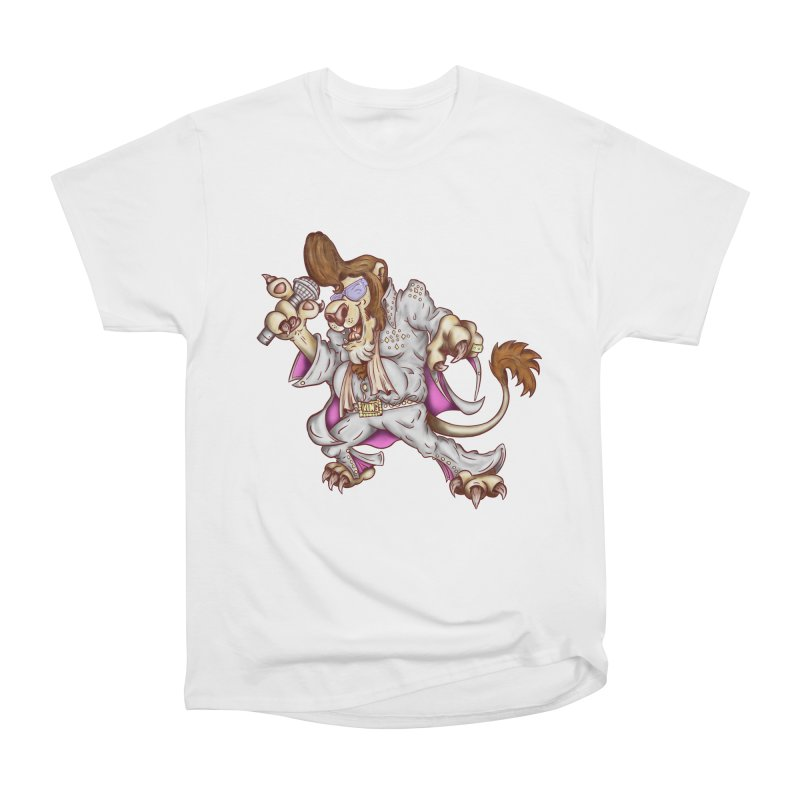 The King Women's Heavyweight Unisex T-Shirt by The Last Tsunami's Artist Shop