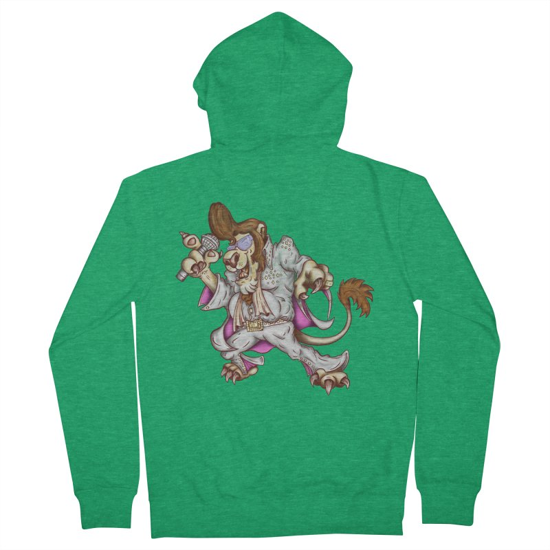 The King Women's French Terry Zip-Up Hoody by The Last Tsunami's Artist Shop