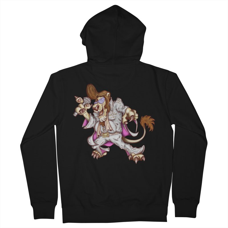 The King Women's Zip-Up Hoody by The Last Tsunami's Artist Shop