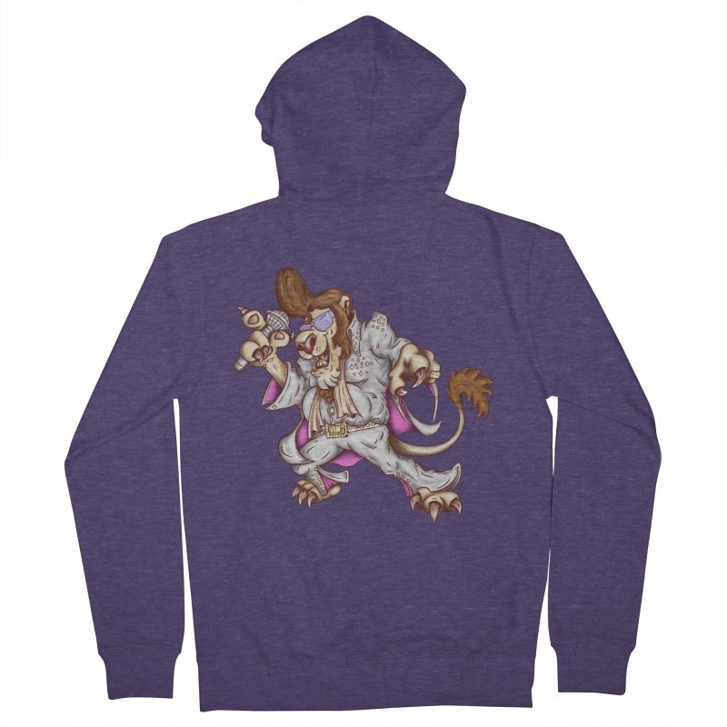 The King Men's Zip-Up Hoody by The Last Tsunami's Artist Shop