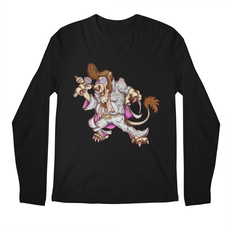 The King Men's Regular Longsleeve T-Shirt by The Last Tsunami's Artist Shop