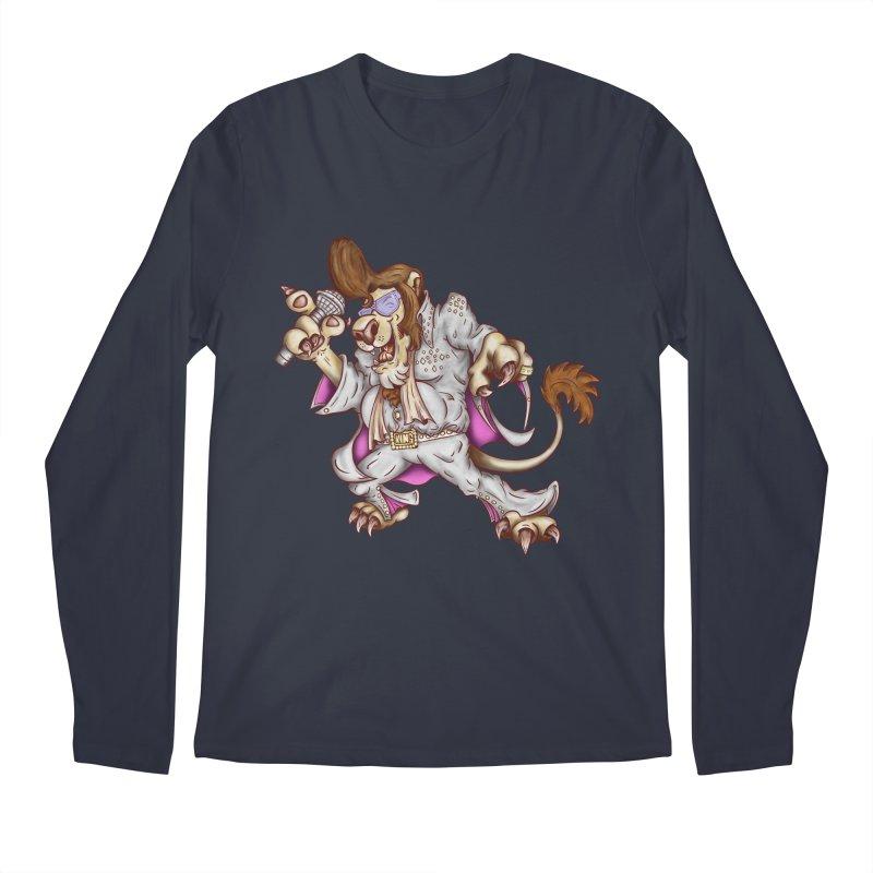 The King Men's Regular Longsleeve T-Shirt by The Last Tsunami's Artist Shop