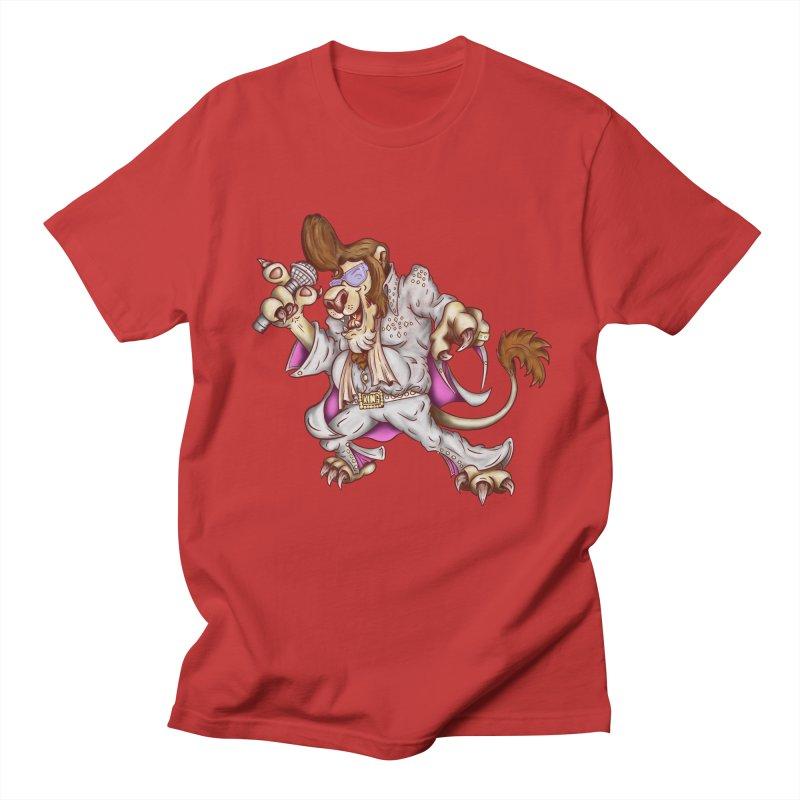 The King Men's Regular T-Shirt by The Last Tsunami's Artist Shop