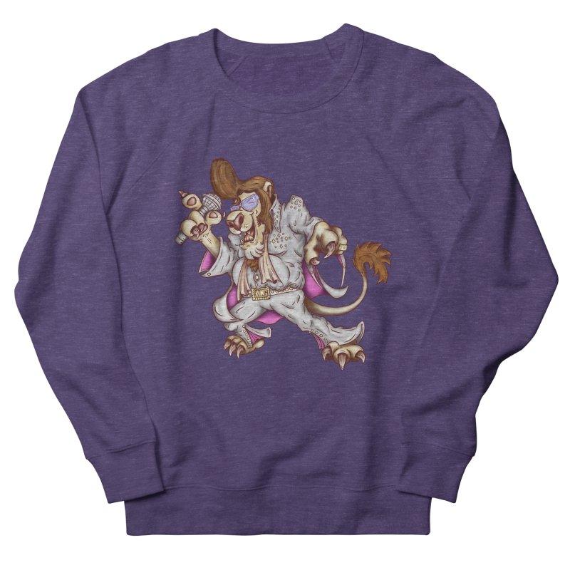 The King Men's French Terry Sweatshirt by The Last Tsunami's Artist Shop