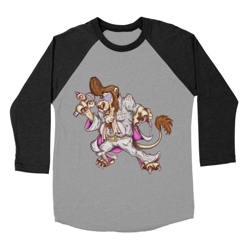The King Women's Baseball Triblend T-Shirt by The Last Tsunami's Artist Shop