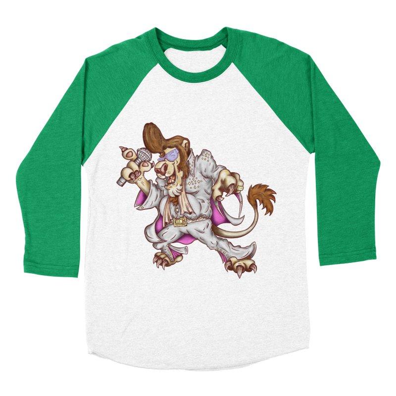 The King Men's Baseball Triblend Longsleeve T-Shirt by The Last Tsunami's Artist Shop