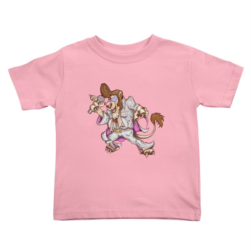 The King Kids Toddler T-Shirt by The Last Tsunami's Artist Shop