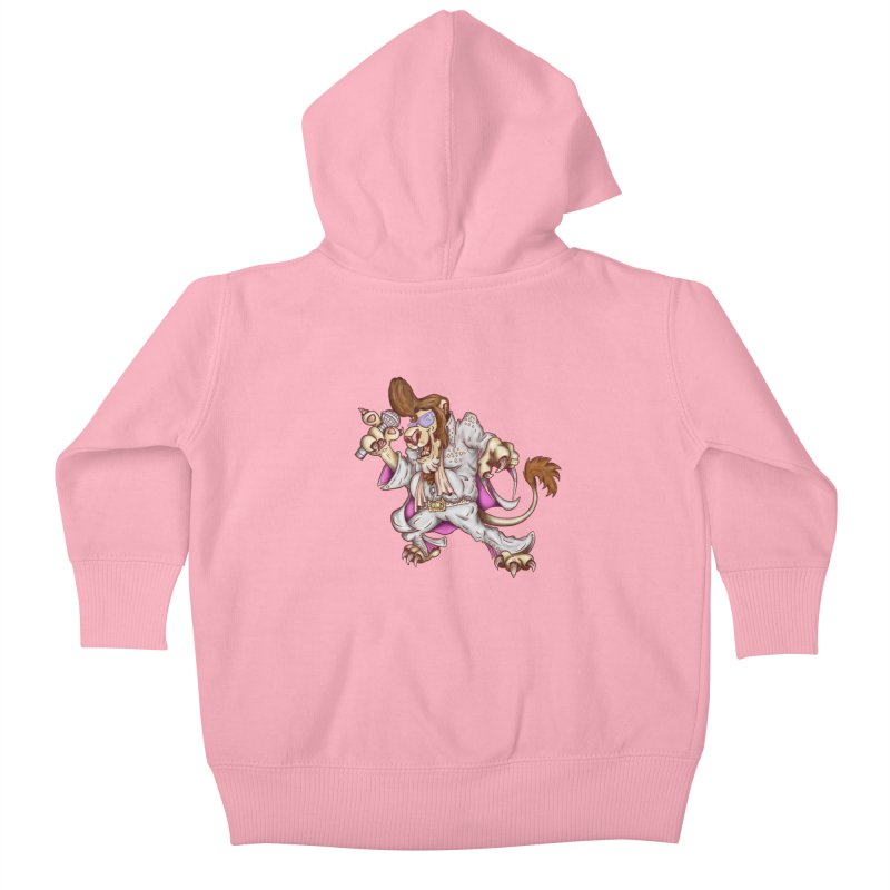 The King Kids Baby Zip-Up Hoody by The Last Tsunami's Artist Shop