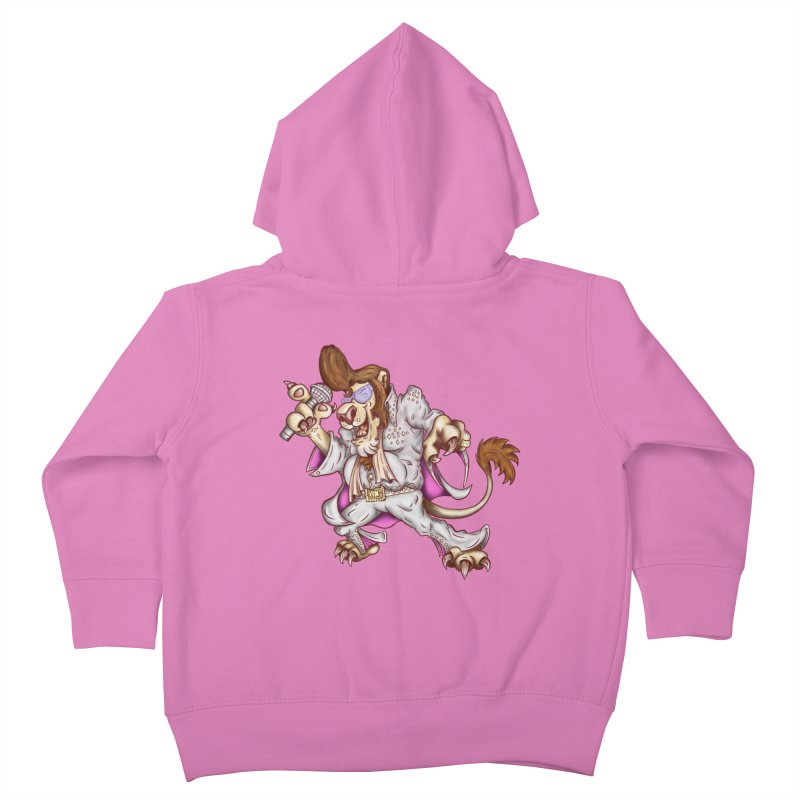 The King Kids Toddler Zip-Up Hoody by The Last Tsunami's Artist Shop
