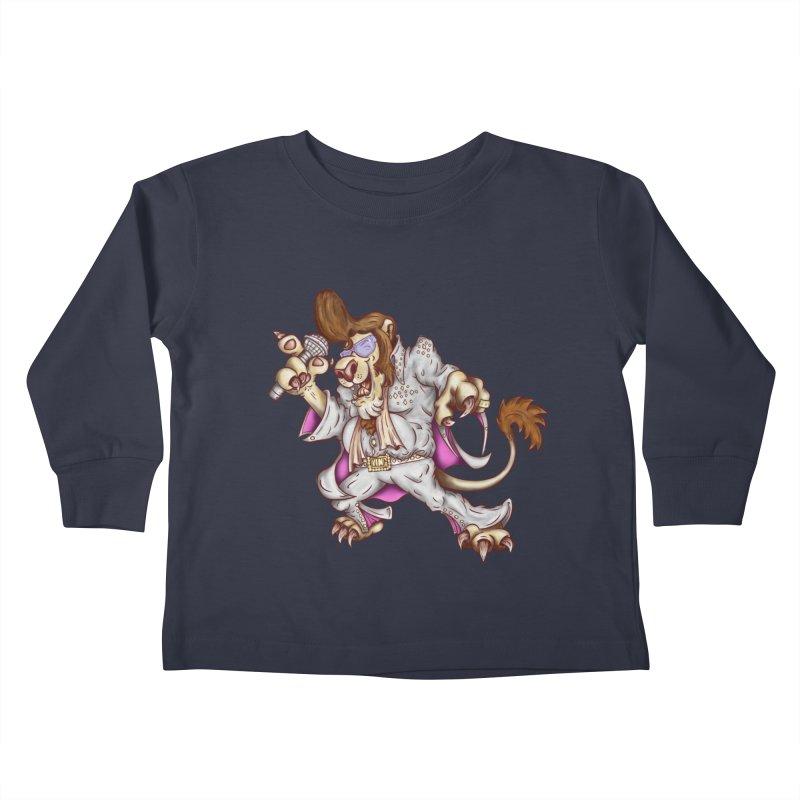 The King Kids Toddler Longsleeve T-Shirt by The Last Tsunami's Artist Shop