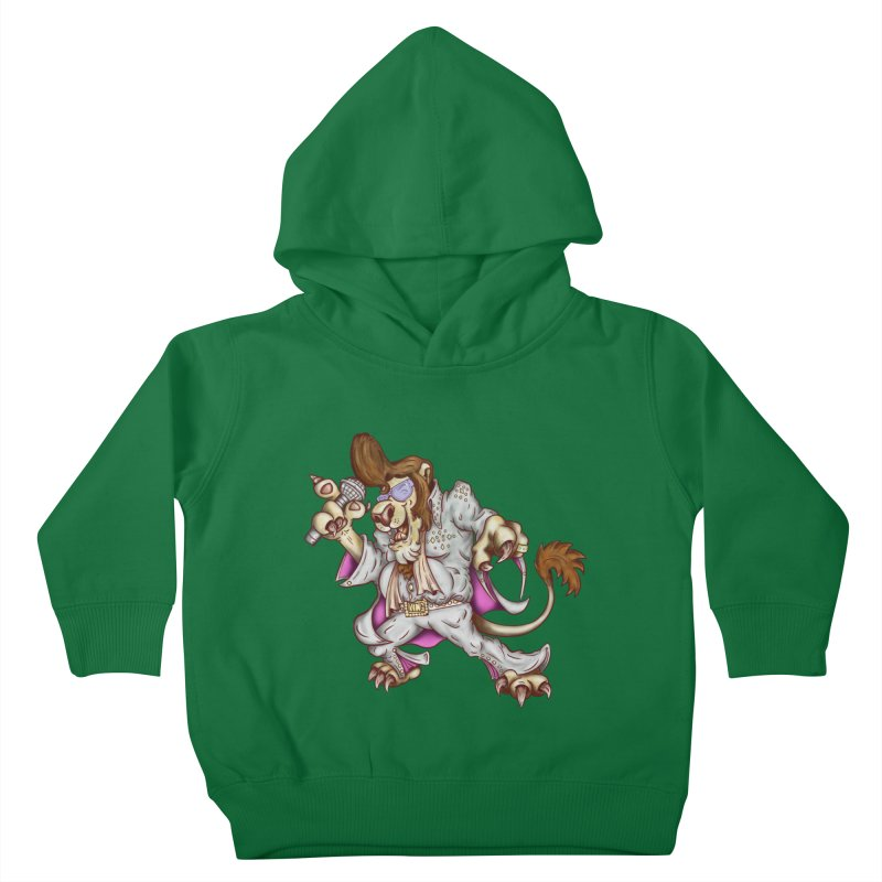 The King Kids Toddler Pullover Hoody by The Last Tsunami's Artist Shop