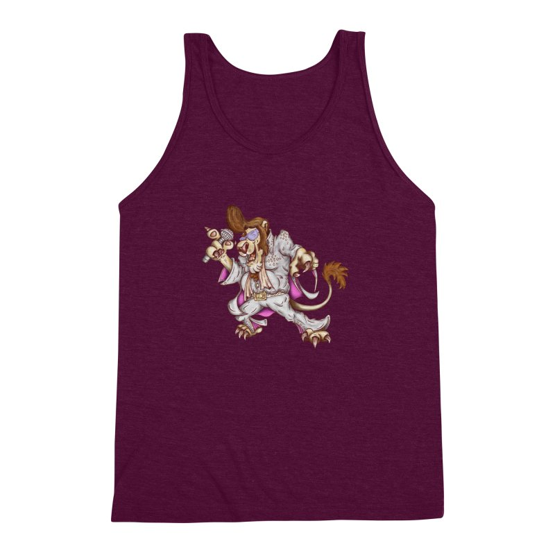 The King Men's Triblend Tank by The Last Tsunami's Artist Shop