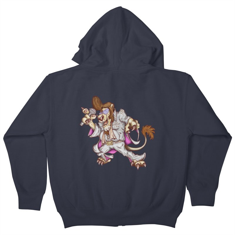The King Kids Zip-Up Hoody by The Last Tsunami's Artist Shop